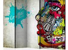 Paraván - Graffiti beauty II [Room Dividers]